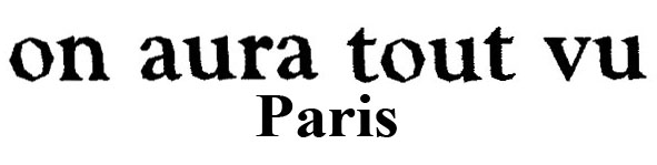 logo on aura tout vu paris