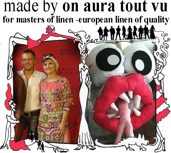 livia stoyanova yassen samouilov and monster by on aura tout vu for masters of linen