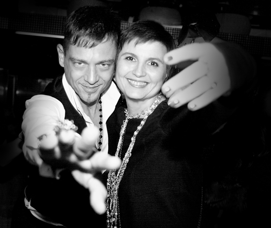 Yassen Samouilov et Livia Stoianova  defile haute couture ete 2012 On aura tout vu