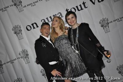 aftershow couture on aura tout vu été 2012 Vip Room Livia Stoianova yassen Samouilov leonora Jimenez