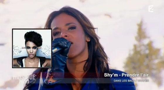 Shy'm  porte on aura tout vu couture  Planète Musique  sur France 2