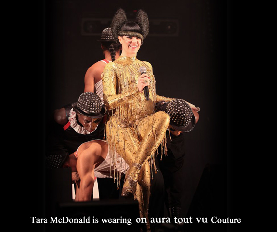 Tara McDonald en concert NRJ porte on aura tout vu Couture