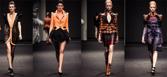 on aura tour vu fashion show by yassen samouilov and livia stoianova at singapore fashion week 2012