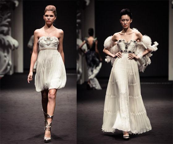 on aura tout vu by Livia Stoianova and Yassen Samouilov singapore fashion week 2