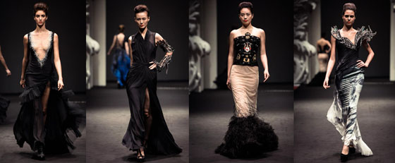 on aura tout vu fashion show 2012 in singapore