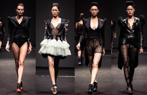 on aura tout vu fashion show in Singapore fide fashion week