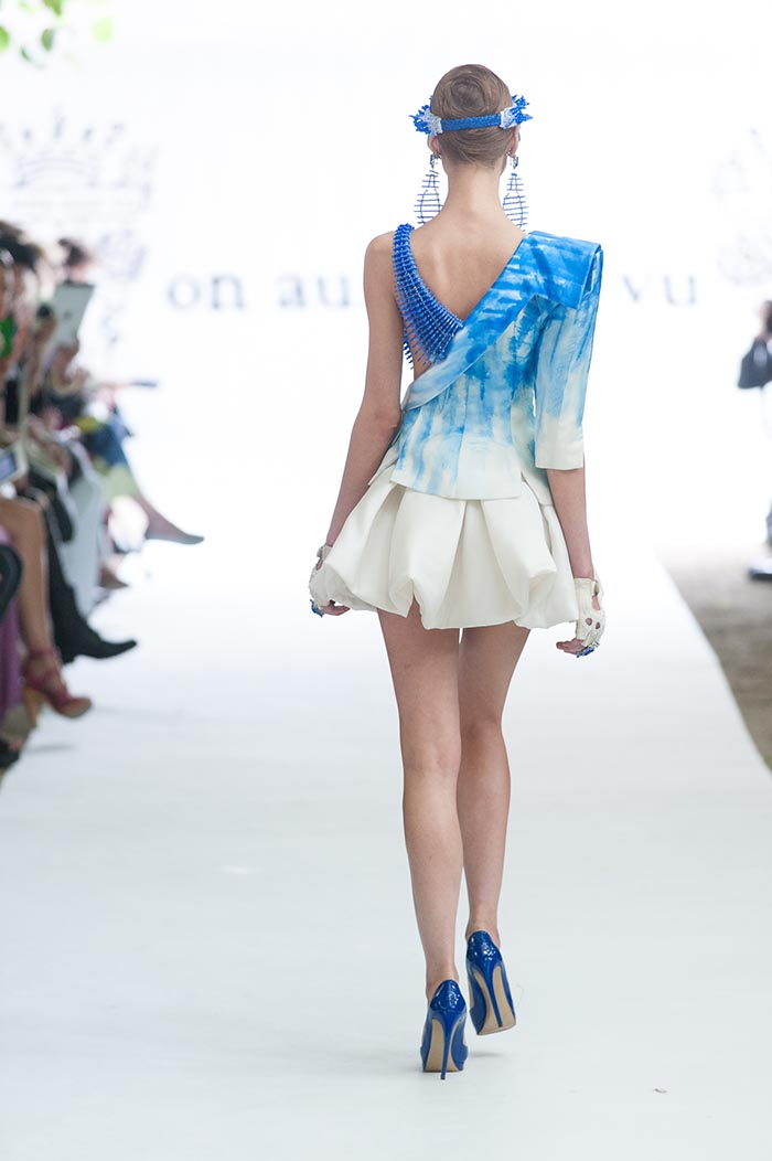 on aura tout vu fw 13-14 fashion week bleu