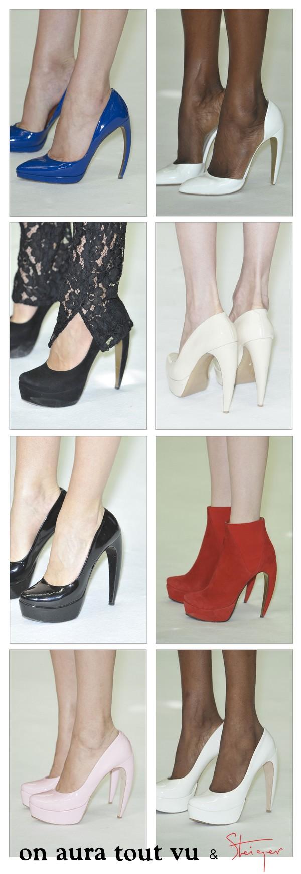 on aura tout vu, haute couture, fall winter 2013 2014, paris, fashion week, walter steiger, escarpins, high heels, stilettos, shoes