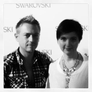 Livia Stoianova Yassen Samouilov & swarovski elements