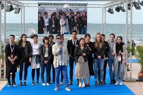 Les 10 Finalistes du Festival International des jeunes créateurs de Dinard 2014 et Dominique-DamienRéhel