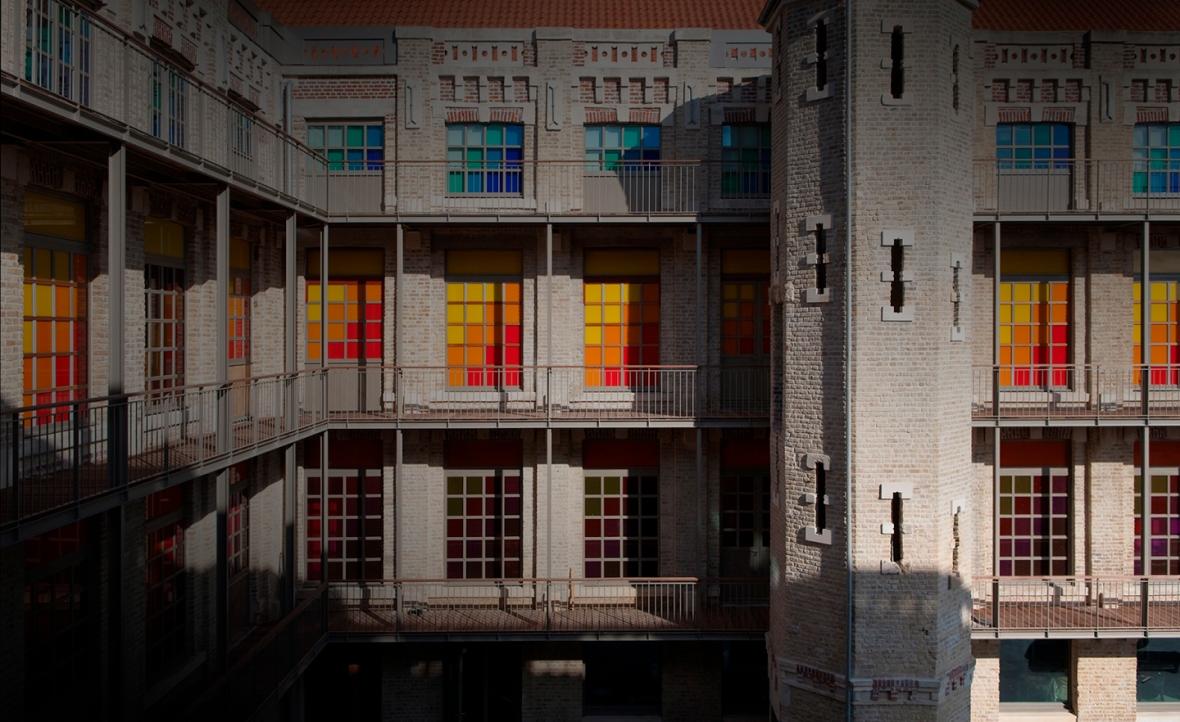 Cour intérieure, CIDM © Photo F.Kleinefenn on aura tout vu sensations