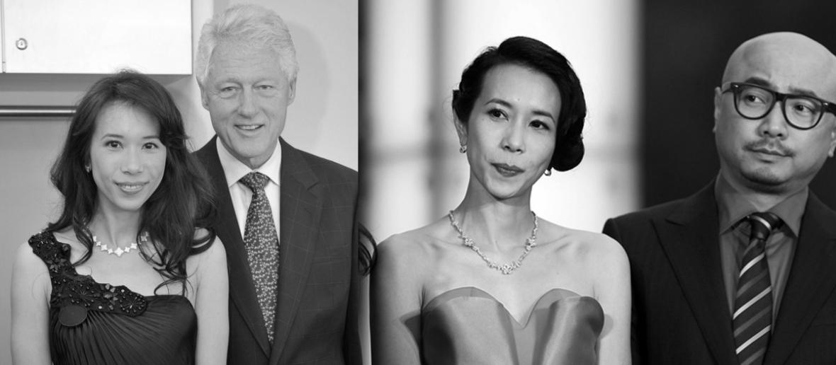 Bill Clinton Xu Zheng Karen Mok
