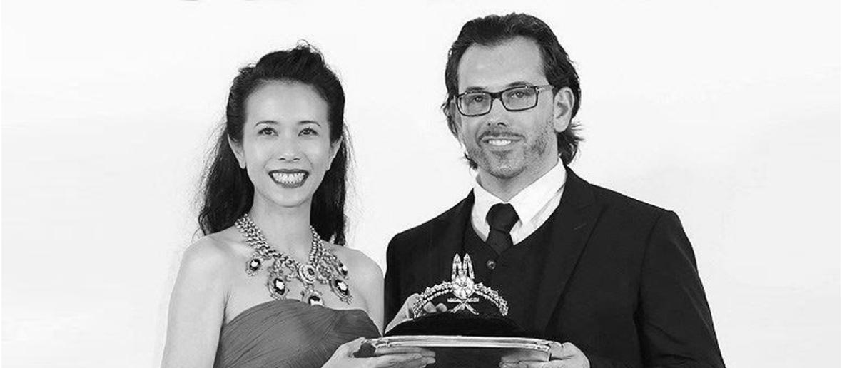 Karen Mok Man Wai world jewelry facets 2014 on aura tout vu paris