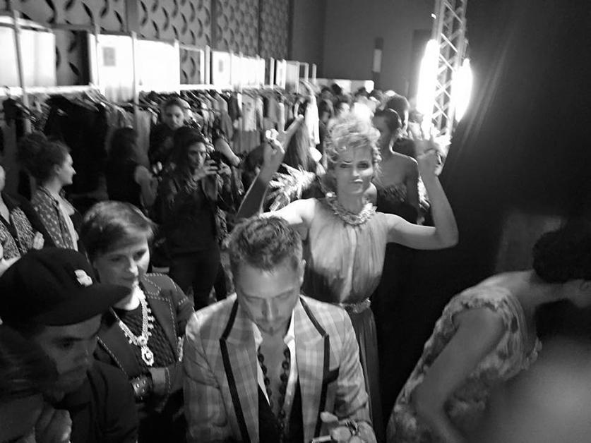 backstage defile on aura tout vu couture yassen samouilov livia stoianova