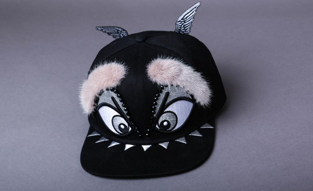 casquette noir en vison par on aura tout vu ete 2016