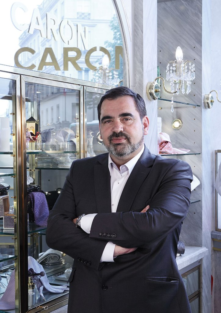 Caron CEO Romain Ales